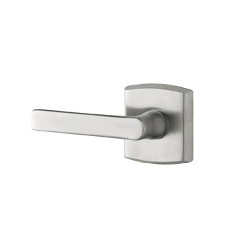 Baldwin 5485.264.LDM Soho Lefty Dummy Lever Handle Satin Chrome