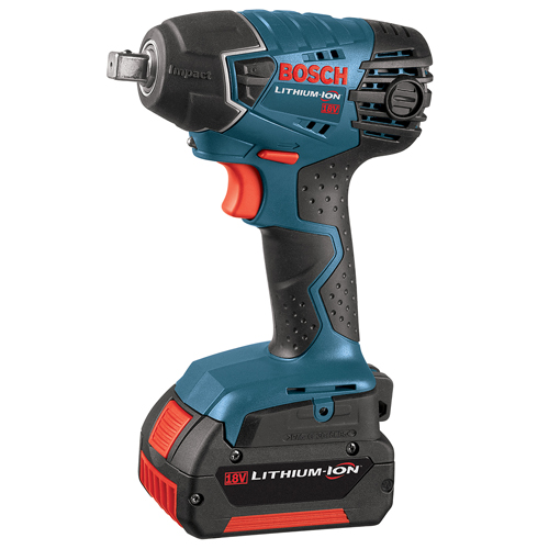Bosch 24618 01 18 Volt 1/2 Inch Lithium Ion Cordless Impact Wrench