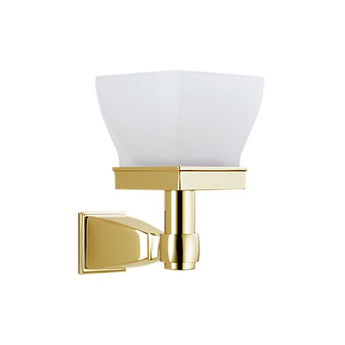 Brizo 69866-BB Vesi Mini Candle Sconce Brilliance Brass - Housewares Home and Garden