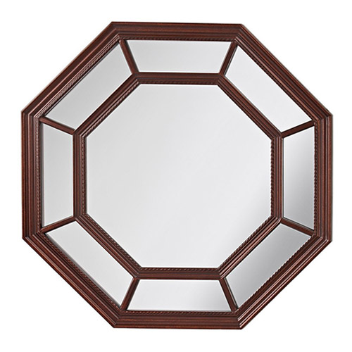 Murray Feiss Mr1131pal Camden Wall Mirror In Palladio Glass In Clear Finish