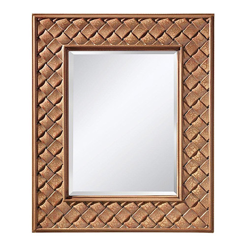Murray Feiss Mirrors: Murray Feiss MR1169BCC Crisfield Rectangular Mirror