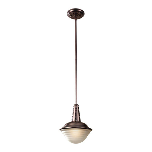 Murray Feiss Fusion Collection: Murray Feiss P1270PCBZ Urban Renewal One Light Mini Round