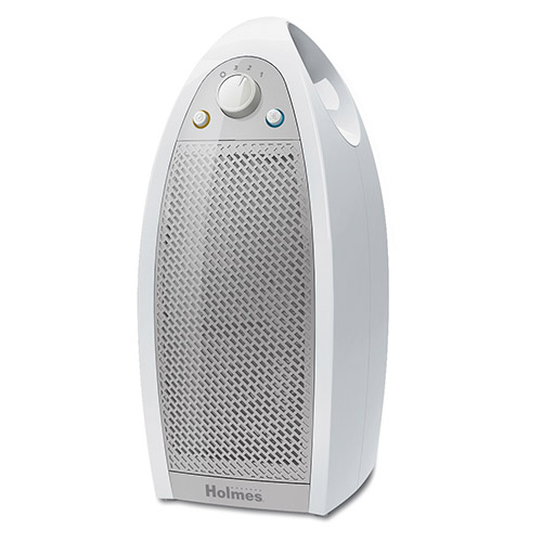 Holmes® Mini-Tower Air Purifier with HEPA-Type Filter in White by Holmes HAP9412WF-TUA