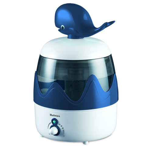 Holmes HUL2622W-UM Kids Mist Control Cool Mist Ultrasonic Whale Humidifier 285101934