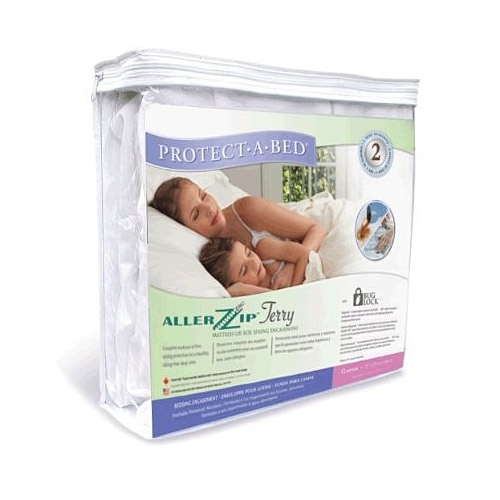 Protect-A-Bed AllerZip Terry Allergy / Bed Bug Mattress Protector Twin XL 9