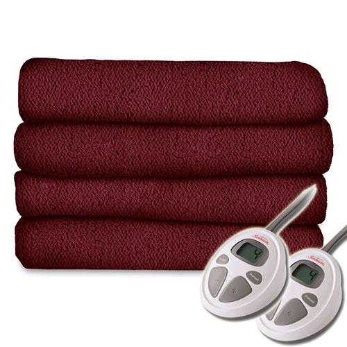 sunbeam lofttec cc7 ultra soft electric heated blanket. Black Bedroom Furniture Sets. Home Design Ideas