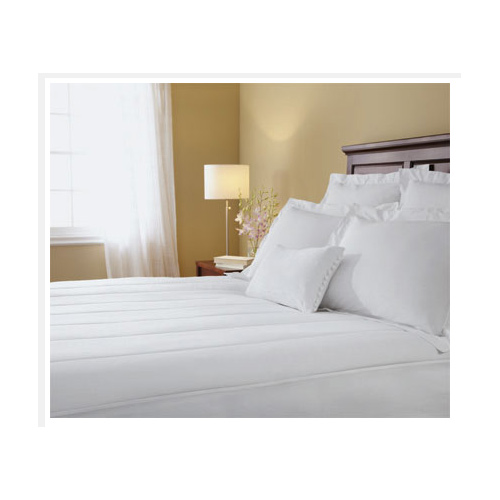 Sunbeam Quilted Heated Electric Mattress Pad Stripe Pattern Full Queen Cal King at Sears.com
