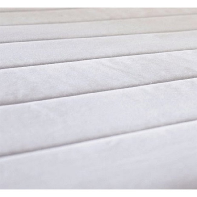 Sunbeam Quilted Heated Electric Mattress Pad Stripe