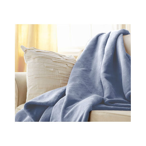 Sunbeam Sunbeam Microplush Electric Heated Throw Blanket - Assorted Colors / Patterns