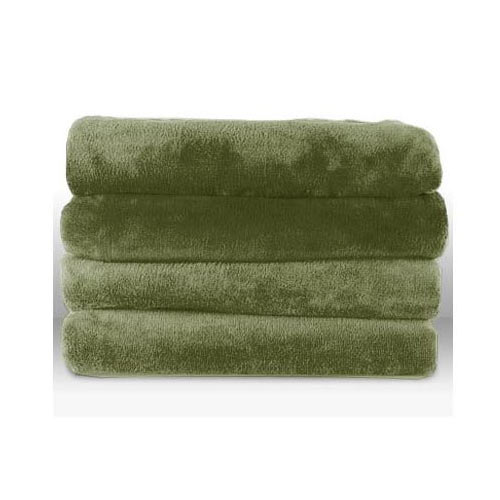 Sunbeam Microplush Heated Electric Throw Blanket