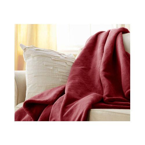 Sunbeam Microplush Heated Electric Throw Blanket