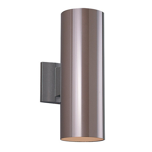 Sea Gull Lighting 8341 10 Outdoor Bullets 2 Light Outdoor Wall Cylinder Bron