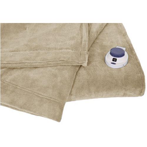 Soft Heat Luxury Microplush LowVoltage Electric Heated Blanket ...