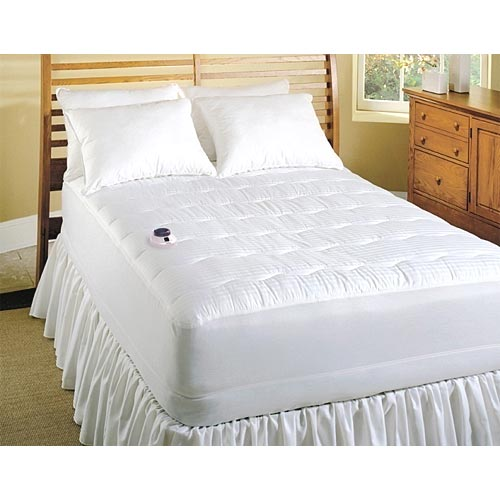 Soft Heat 250TC Low Voltage Electric Heated Warming Mattress Pad Queen King at Sears.com