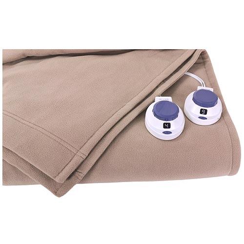 soft heat luxury microfleece low volt electric heated. Black Bedroom Furniture Sets. Home Design Ideas