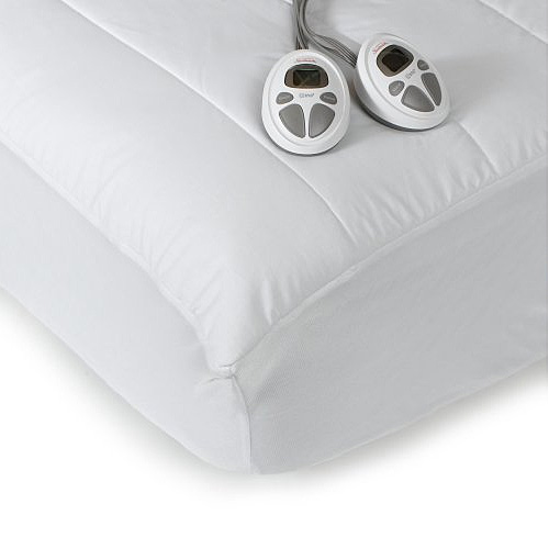 Sunbeam Therapedic Queen Size Heated Electric Warming Mattress Pad 140-Thread at Sears.com