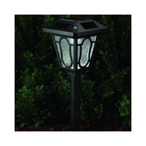 westinghouse ne1201 28 denmark super bright solar path light black. Black Bedroom Furniture Sets. Home Design Ideas