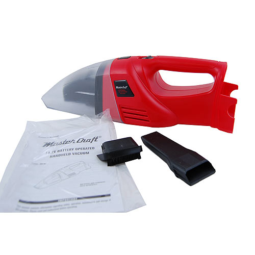 Master Craft 19.2 Volt Wet/Dry Hand Held Vacuum Battery Pack Sold Separate - Housewares Home and Garden