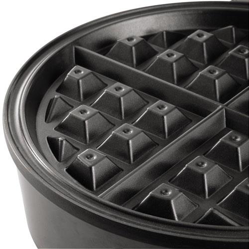 Sunbeam CKSBWF2000-BF 8-Inch Belgian Waffle Maker, Stainless Steel