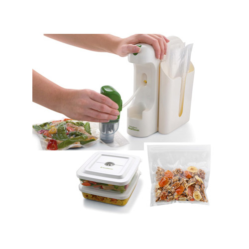 Foodsaver FSMSSY0214 Mealsaver Compact Vacuum Sealing System White