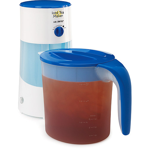 Best Coffee Maker Iced Coffee : top69tnn: Immediately Mr. Coffee 3-Quart Iced Tea Maker, Blue Save