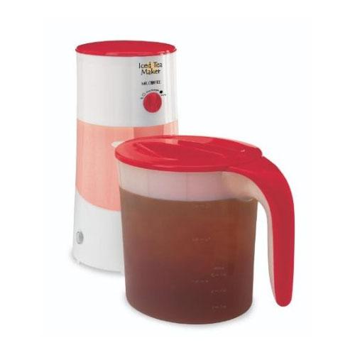Mr Coffee TM70RS 3 Quart Iced Tea Maker w Adjustable Steeping Control eBay