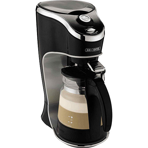 Mr. Coffee BVMC-EL1 24 Oz Cafe Latte / Coffee / Hot Chocolate Home Brewer Black - Coffee, Tea and Espresso Kitchen Appliances