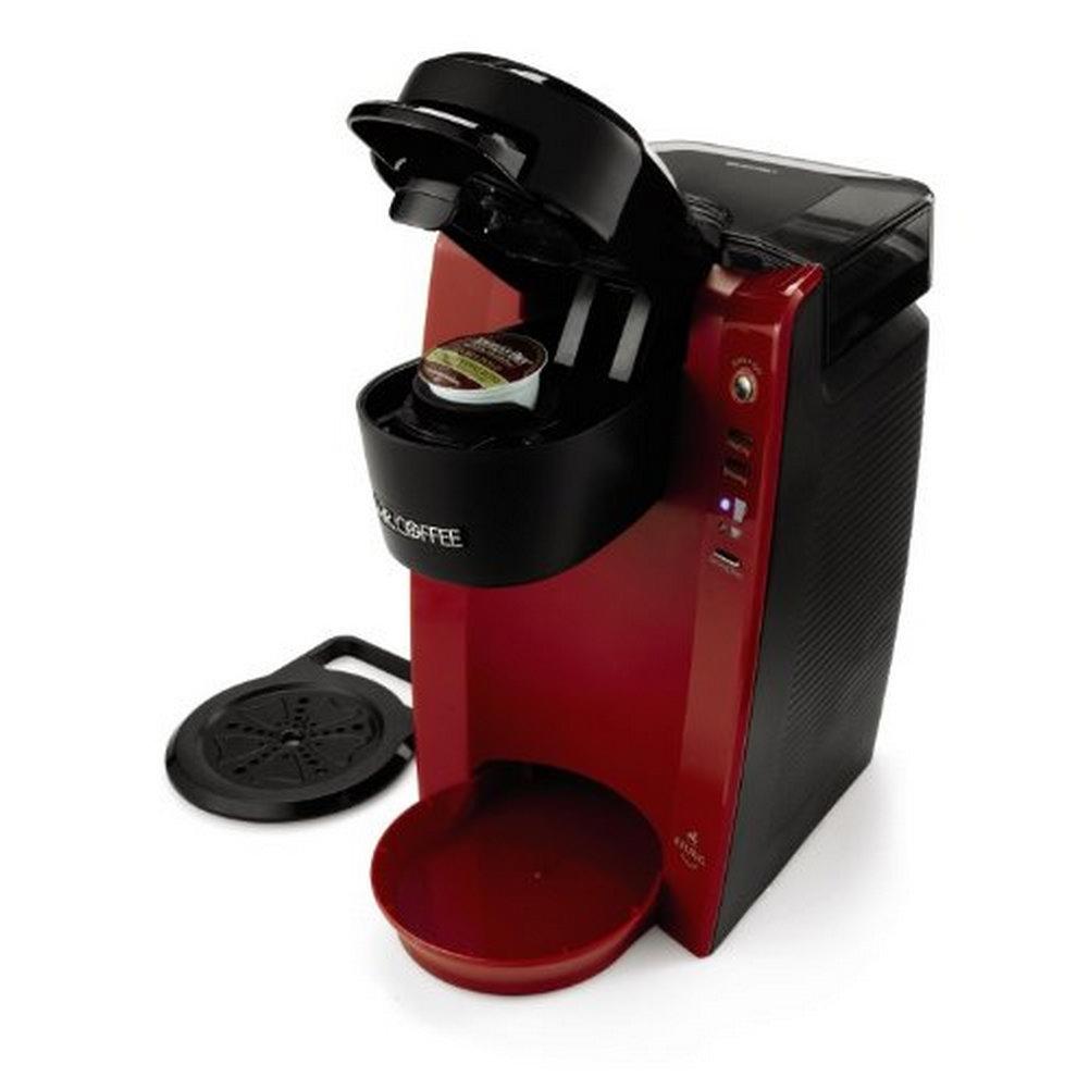 Mr Coffee BVMC KG5R Single Serve Coffee Brewer Machine Red eBay