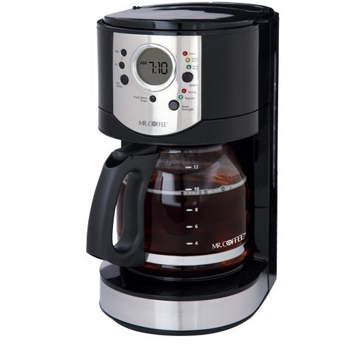how to clean a programable oster coffee pot