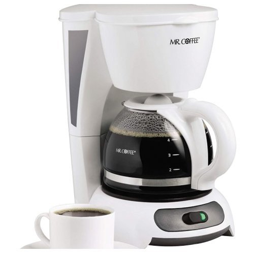 Mr coffee tf6 white 5 cup switch coffee maker new ebay for Apartment coffee maker