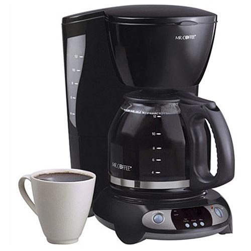 Mr Coffee TFX23 12 Cup Programmable Black Coffee Maker eBay
