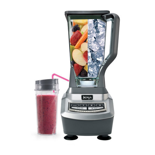 Ninja BL740 Professional Blender with Single Serve Cup 12489100