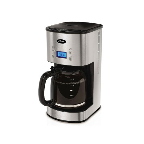Oster Coffee Maker Delay Brew : Oster BVST-JBXSS41 12-Cup Coffee Programmable Maker Stainless Steel eBay