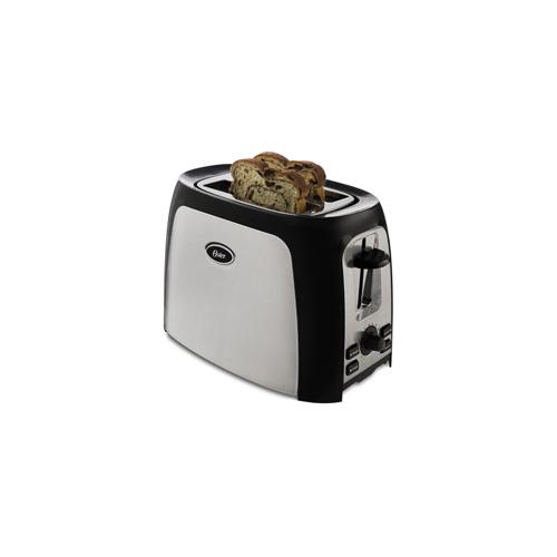 Oster 4 Slice Long Slot Toaster At Oster Com: Oster TSSTTR2S4B 2-Slice Wide Slot Toaster Stainless
