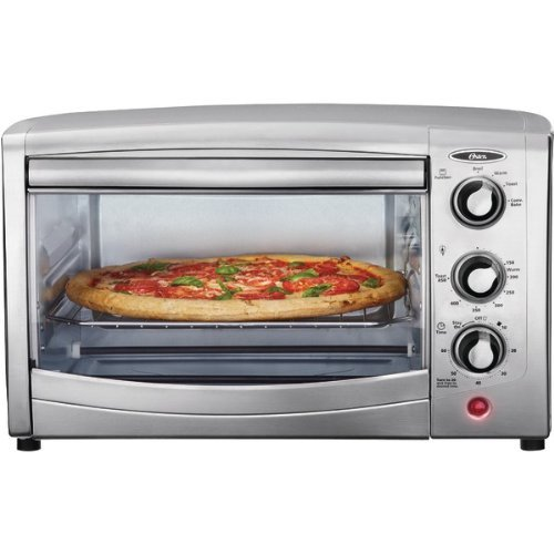 Oster tssttvca01 6 slice convection toaster oven stainless for Oster toaster oven