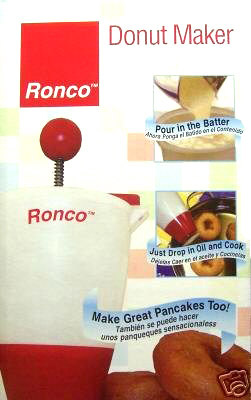 Ronco TF7004 Classic Collection Donut Maker, Dispense Biscuits, Crepes, Pancakes - Specialty Accessories Kitchen Appliances
