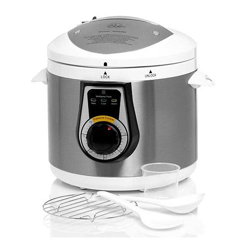 Wolfgang Puck BPCRM045 Elite Heavy Duty 7 Qt Electric Pressure Cooker - White - Crock Pots and Slow Cookers Kitchen Appliances