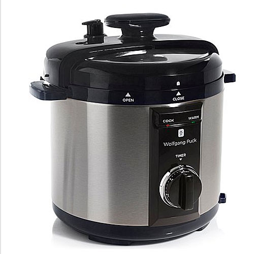 Wolfgang  Puck Wolfgang Puck BPCRM800B Automatic 8-Quart Rapid Pressure Cooker Black at Sears.com