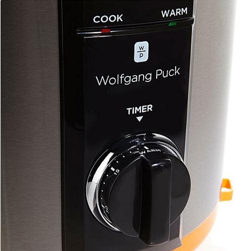 Wolfgang Puck BPCRM800B Automatic 8-Quart Rapid Pressure Cooker Black