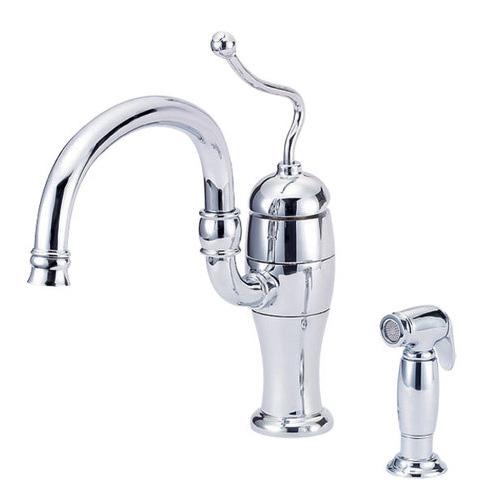 Danze D403221 Antioch 1 Handle Kitchen Faucet Chrome Ebay