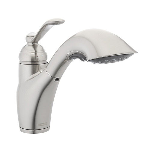 Franke 115.0287.056 Single Handle Pull Out Kitchen Faucet