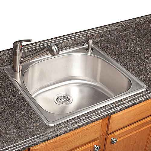 Franke Bar Sink : Franke FSG902-18BX TopMount Single Bowl Ktichen Bar Utility Stainless ...