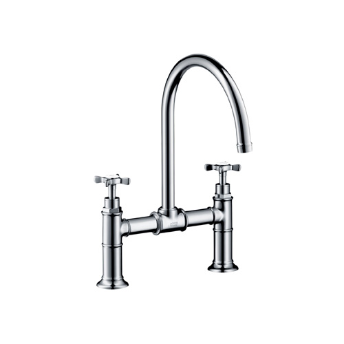 Hansgrohe 16803001 Axor Montreux Bridge Kitchen Faucet Chrome