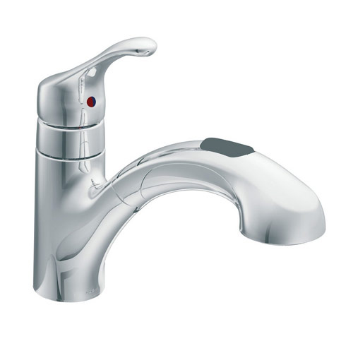 moen 87316c renzo pullout kitchen sink faucet chrome ebay