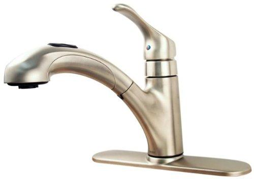 moen renzo ca87316csl one handle kitchen sink faucet