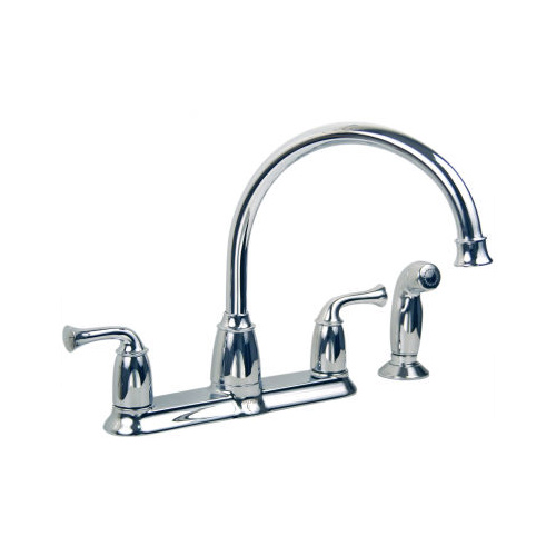 moen 87553 banbury high arc kitchen sink faucet with side
