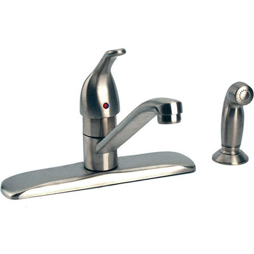 Touch Faucet Kitchen: Moen 87830SL Touch Control Kitchen Faucet W/Side Spray