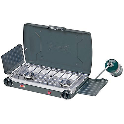 Coleman 2000004120 Perfectflow Instastart 2-Burner Propane Stove - Camping and Hiking Outdoor Sports