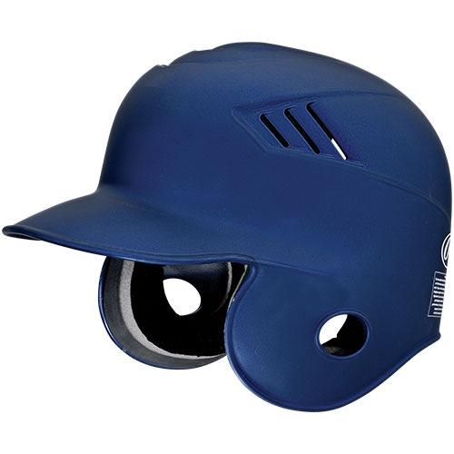 Rawlings CFABHM-MN-90 Pro Style Matte Navy Baseball Batters Helmet, Large