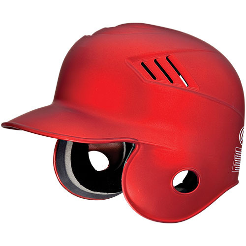 Rawlings CFABHM-MS-88 Pro Style Coolflo Matte Scarlet Batters Helmet, Small
